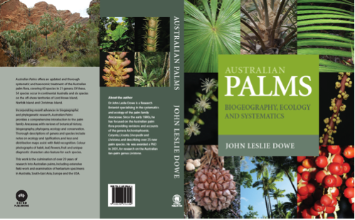Cover Illustration for Australian Palms