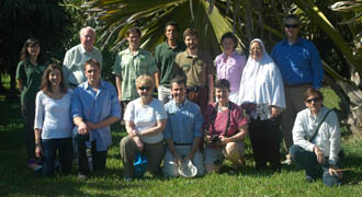 NTBG- Kampong Fairchild Medal 2011 Speakers visiting Montgomery Botanical Center (MBC).