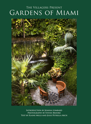"Cover of the ""Gardens of Miami"" book"