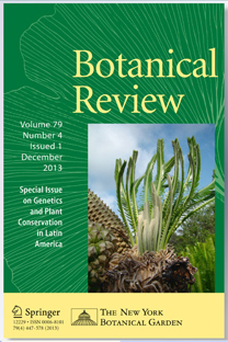 The cover of Botanical Review, December 2013