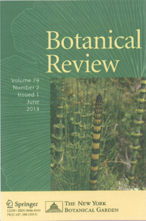 The cover of Botanical Review, June 2013