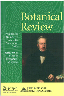 The cover of Botanical Review, December 2012