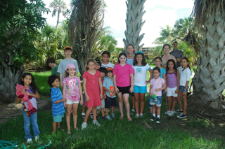 Coral Gables Museum City Trekkers Visit Montgomery Botanical Center July 2010