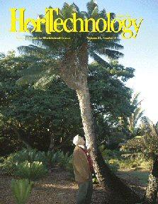 Cover of HortTechnology, November 2011