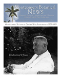 50th Anniversary Montgomery Botanical Center Newsletter