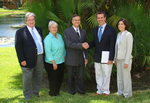 MBC and FIU after signing agreement,
