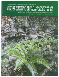 The Cover of Encephalartos, June 2014