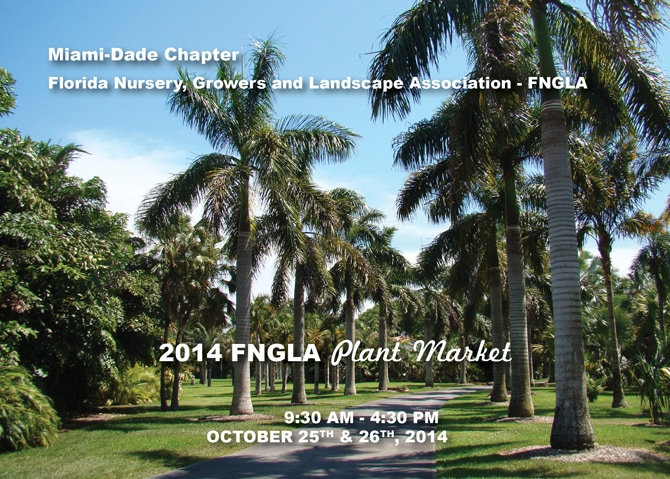Miami-Dade Chapter 2014 FNGLA Plant Market