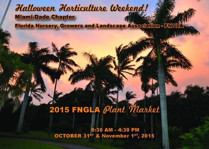 Miami-Dade Chapter 2015 FNGLA Plant Market