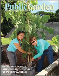 Service Learning in Colleges and Universities: A new article in Public Garden
