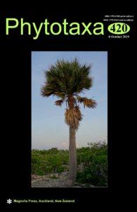 Cover of Phytotaxa 420